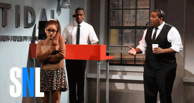 Ariana Grande Imitates Rihanna, Shakira, Whitney Houston & Britney Spears on SNL