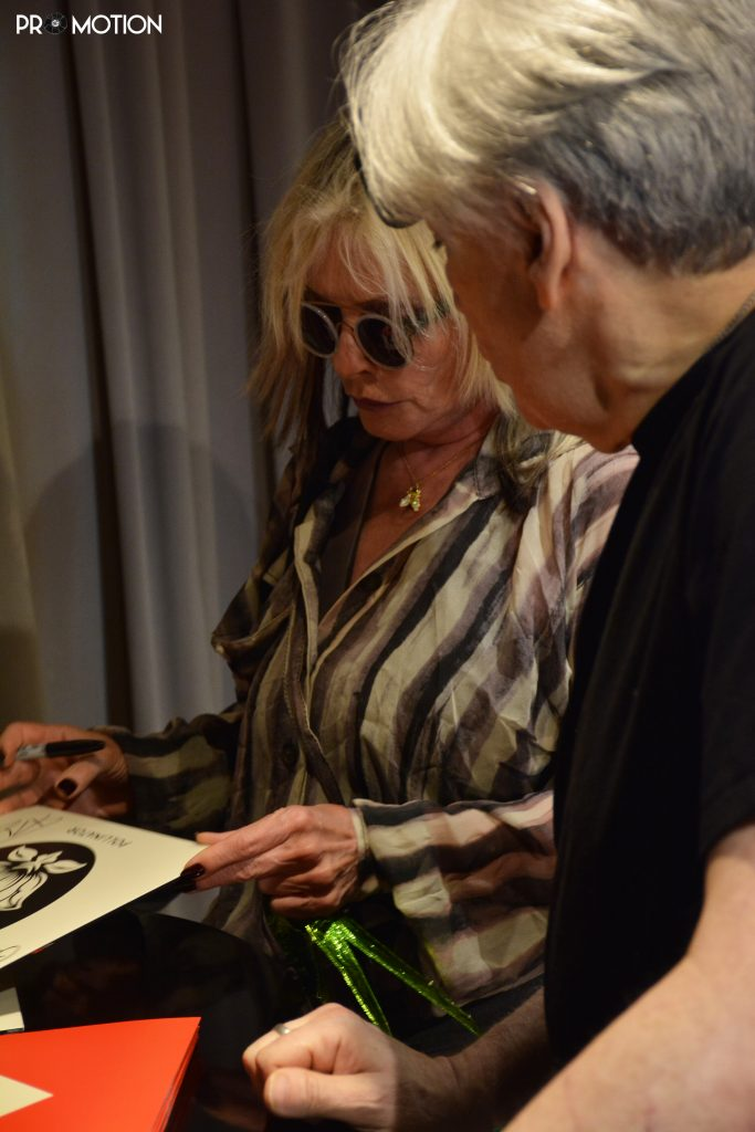 Blondie Debbie Harry Chris Stein 2017