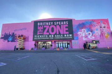 Britney Spears Mural