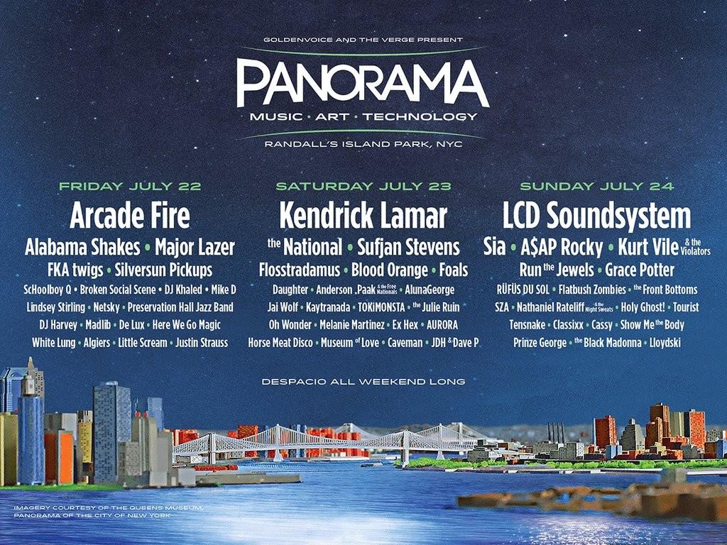 """Panorama """"East Coast Coachella"""""""
