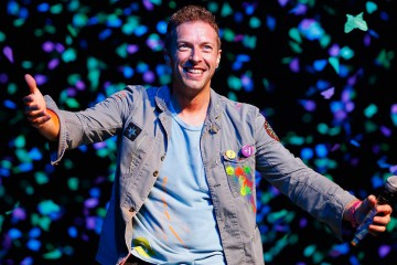 Chris Martin Raspberry Beret
