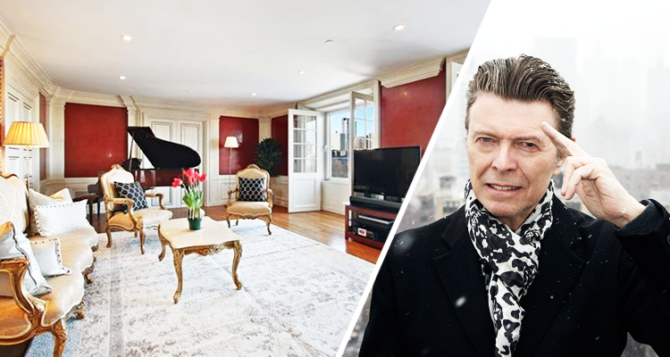 David bowie 39 s former new york city apartment for sale for David bowie nyc apartment