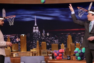 "Drake ""Faceketball"" Jimmy Fallon"