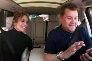 Jennifer Lopez Gives James Corden a Dance Lesson in 'Carpool Karaoke' Special: Watch