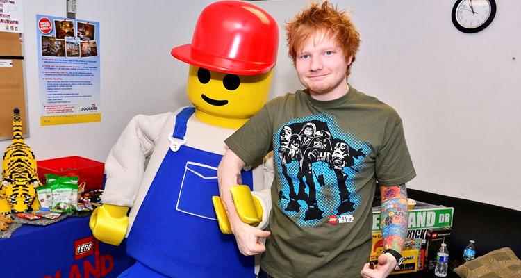 Ed Sheeran Legos