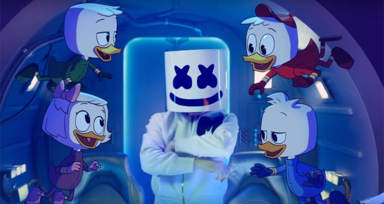Marshmello Teams Up With 'DuckTales