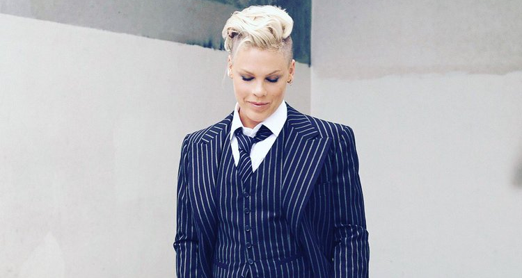 p nk voices support for lgbtq community with trump esque hat