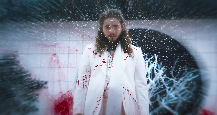 "Post Malone and 21 Savage Share Gory ""rockstar"" Video"