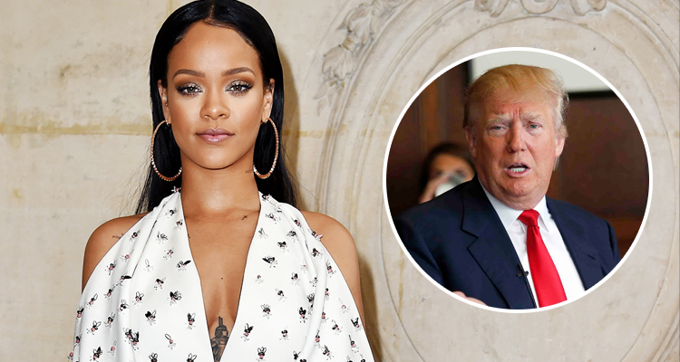 Ð?аÑ?Ñ?инки по запÑ?осÑ? photo rihanna with trump