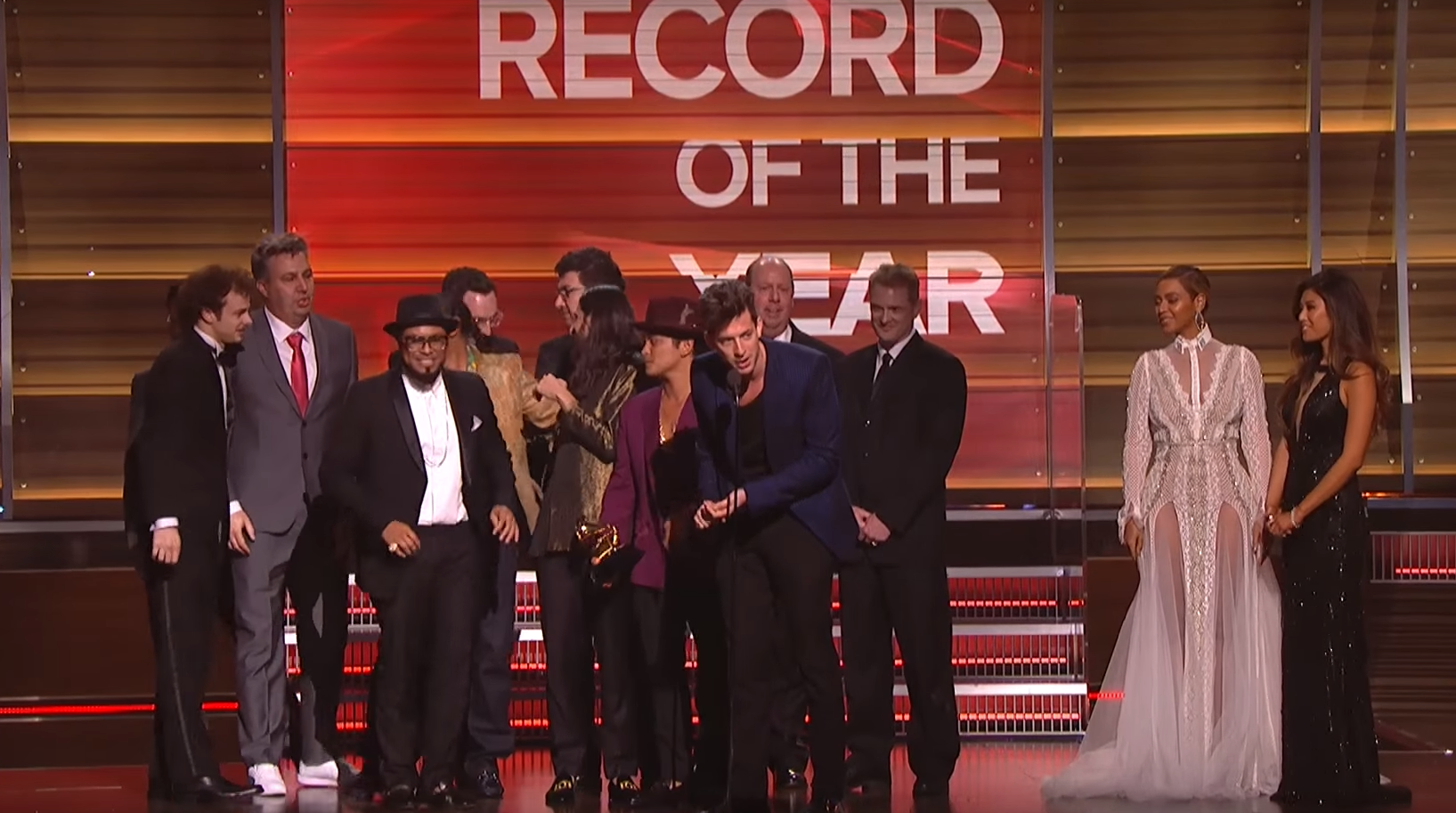 Grammys 2016: Mark Ronson wins Record of the Year for 'Uptown Funk ft. Bruno Mars'