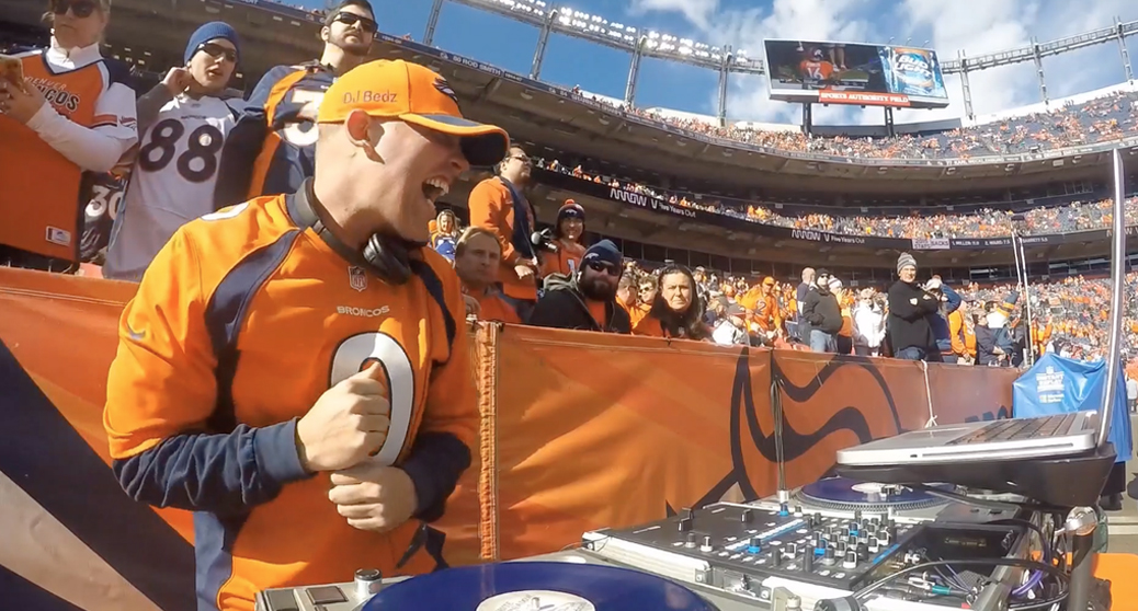 DJ Bedz Official DJ For Denver Broncos