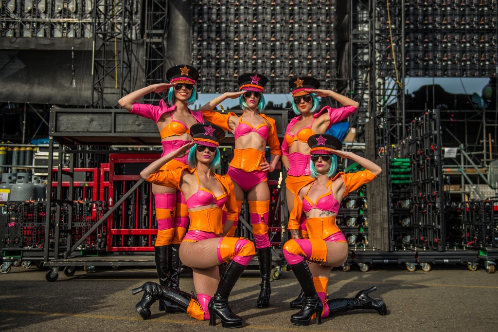 Electric Daisy Carnival New York 2016 Girls