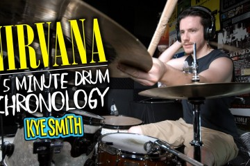 See One Drummer Play Every Nirvana Song in Five Minutes