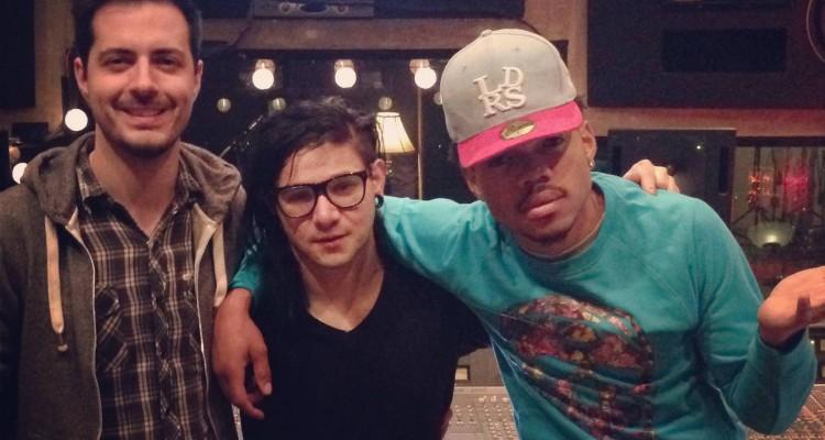 chance the rapper featured on skrillex remix