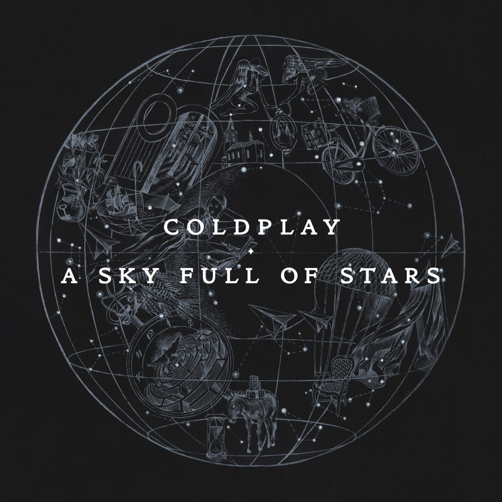 Coldplay A Sky Full of Stars Cover Art