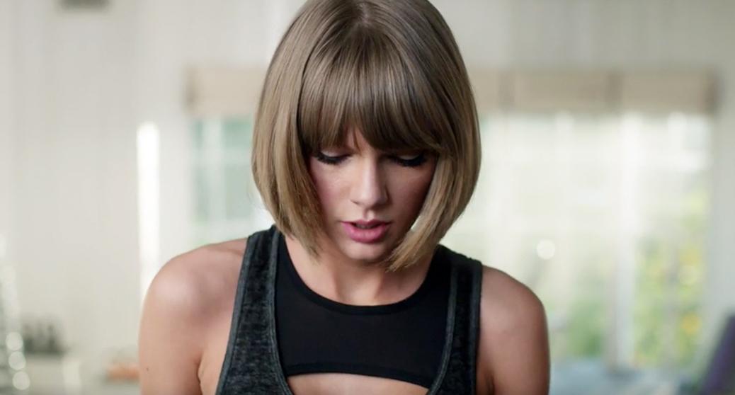 Taylor Swift Raps To Drake & Future's 'Jumpman', Falls Off Treadmill In Apple Music Ad