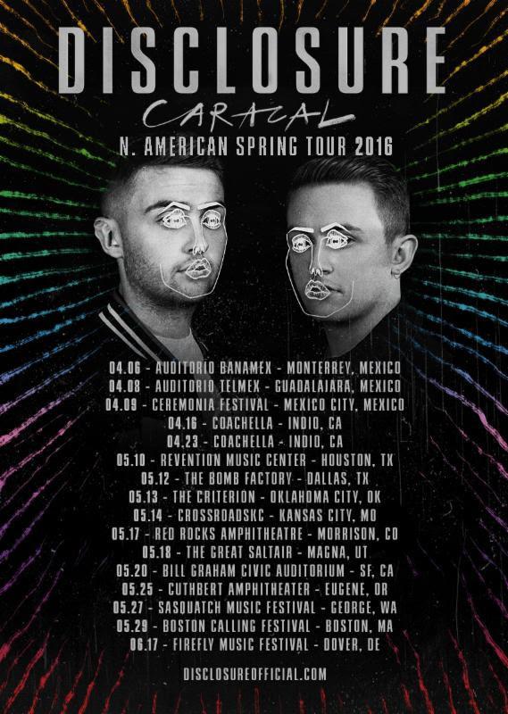 Disclosure Announces American Tour